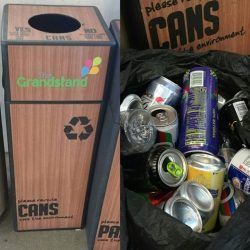 [SodaStream] Our team went around to collect cans and plastic bottles today.