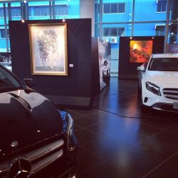 [Goshen Art Gallery] Special collaboration with Mercedes Benz Singapore for the month of March 2017.