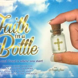 [MOUNT ZION CHRISTIAN BOOKS & GIFTS CENTRE] Get this cross-in-a-bottle for free when you make a purchase of $50 or more in our shops