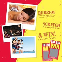 [Sasa Singapore] Redeem, Scratch & Win!