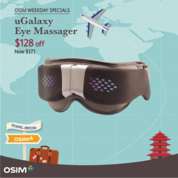 [OSIM] Don't leave home without these comforting travel companions!