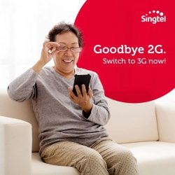 [Singtel] Did you know that 2G mobile services of all operators will no longer be offered from 1 April 2017?
