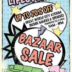 [Cath Kidston Singapore] Lifestorey Bazaar Sale is Finally Here!