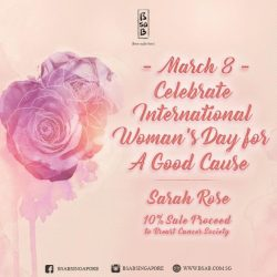 [BsaB] Celebrate International Women's Day this Wednesday, March 8.