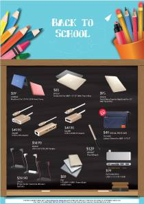 [EpiCentre Singapore] Check out this month's back to school promotions with free gift bundles for every purchase of Apple products happening