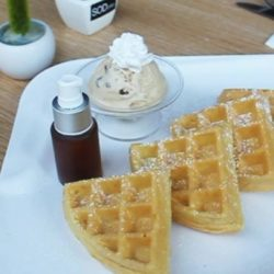 [Sod Café] SOD cafe will be celebrating Waffles' Day this Saturday!