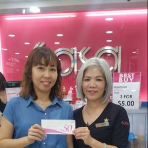 [Sasa Singapore] Spot the lucky Staycation & Travel vouchers winners!