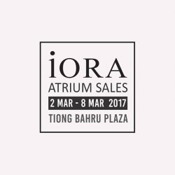 [IORA] Don't forget to give us a visit at Tiong Bahru Plaza!