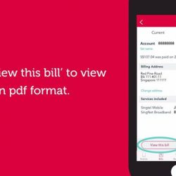 [Singtel Mio TV] View and pay your Singtel bills the easy and convenient way with My Singtel app.