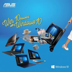 [ASUS] From now till 30 June, purchase any ASUS Windows 10 device powered by the Intel® processor above $500 and stand