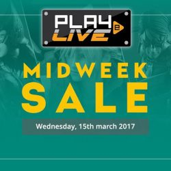 [PLAYe] Facebook live sale begins at 4pm tomorrow!