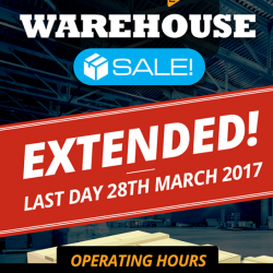 [PLAYe] Thanks everyone for the awesome turn out at our Warehouse Sale.