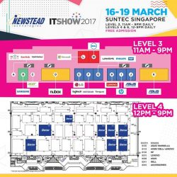[Newstead Technologies] Find the latest IT gadgets & mobile accessories deals only at Newstead booths at the IT Show 2017.