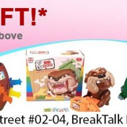 [Lamkins] Get a FREE GIFT when u spend $50 and above at our Breaktalk IHQ outlet from 1 April 2017 to