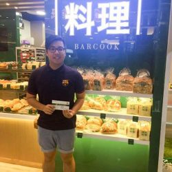 [Barcook] Congrats to our Barcook Hillion Mall customer who walked away with $30 worth of Barcook vouchers in our Facebook giveaway!
