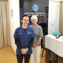 [J Laser and Aesthetics] Our clinic is privileged to be given the opportunity to host Cutera Excel V's expert trainer from Sydney, Australia