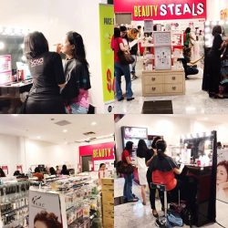 [Sasa Singapore] If you haven't, pop by SasaPopUpOUTLET now and get your FREE* midday touch up & vouchers when you shop with