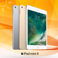 [M1] Enjoy seamless connectivity on the go with iPad mini 4 from $240 on SurfMax plan at $50.