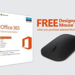 [Best Denki] FREE Designer Bluetooth Mouse when you purchase selected Microsoft Office products.