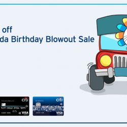 [Citibank ATM] Missed out on Lazada's 3rd Birthday Sale?
