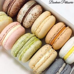 [Bonheur Patisserie] To celebrate International Macaron day on 20th March, we are offering any 10 round macarons for $25 this coming Monday!