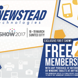 [Newstead Technologies] We are glad that the IT Show organizer has extended the closing time of today till 9.