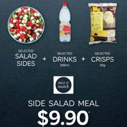 [Marks & Spencer] Toss it up with us at the M&S Food Hall by indulging in our brand new Side Salad Meal