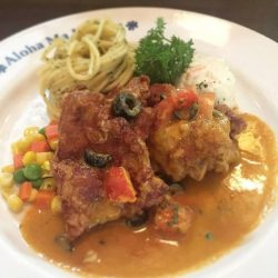 [Ma Maison Restaurant Singapore] Today's Daily Lunch at Ma Maison at Bugis Junction isDeep Fried Chicken with Japanese DressingComes with Soup,