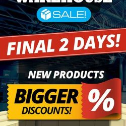 [PLAYe] The PLAYe warehouse sale will end tomorrow,but we have new products and bigger discounts for you.