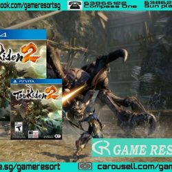 [GAME RESORT] PS4 & PSVITA Toukiden 2 (English),Fight to save the world from demons through real time battles in a huge open