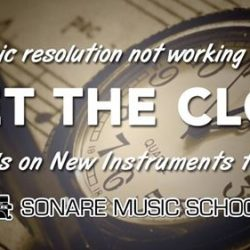 [Sonare Music School] If learning a new musical instrument is on your 2017 resolution list and you haven't started, make it happen