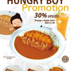 [Cocoichibanya Singapore] Can't get enough of our delicious curry?
