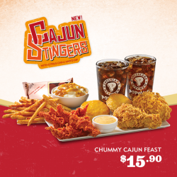 [Popeyes Louisiana Kitchen Singapore] Haven't had the chance to savour our Cajun Stingers?