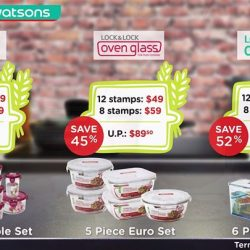 [Watsons Singapore] Have you collected enough stamps yet?