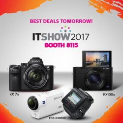[Sony Singapore] IT Show 2017 is back!