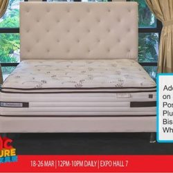 [Sealy Singapore] Enjoy an additional 25% savings on Sealy UniCased Posturepedic Heritage – Plush and Posturepedic Bishop – Plush mattresses only at Asia Pacific