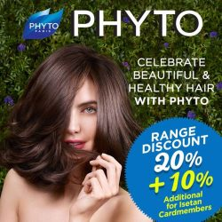 [Isetan] Phyto the botanical scalp & hair experts offers natural solutions for a healthy scalp & beautiful hair.