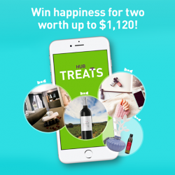 [StarHub] Today is International Day of Happiness and HubTreats is giving away some FREE Treats to you and your loved one!