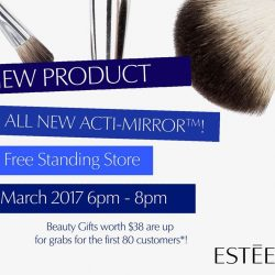 [Estee Lauder Singapore] We have some exciting stuff going on 27 March!