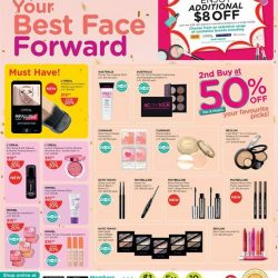 [Watsons Singapore] Enjoy amazing deals across participating brands like DHC, Colgate  and more!