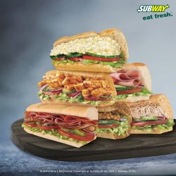 [Subway Singapore] We bring you the right balance of flavour & health.