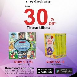 [MPH] Exclusive MPH Offer On Parkway Parade App30% off Disney Mickey Mouse & Friends - Fairytales Storybook Collection & Usborne Very First Reading