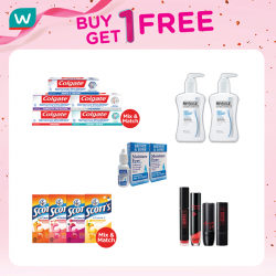 [Watson's] Marvellous Buy 1 Get 1 Free offers!