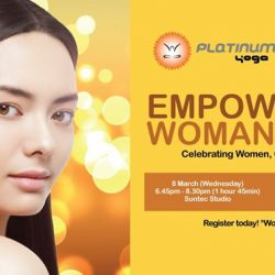 [Platinum Yoga] Our Women Only Event is now FREE for PY members!