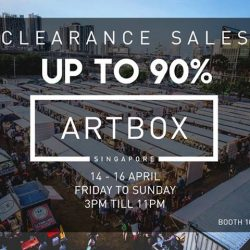 [PAULINE.NING] We will be at Artbox Singapore, booth 101 & 102 from 14-16 April!