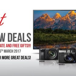 [Sony Singapore] Get MORE FOR LESS at Sony Store with our Great IT Show Deals!