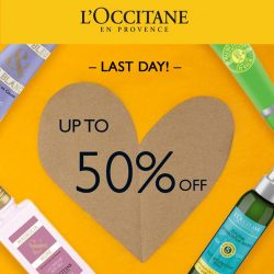 [L'Occitane] You have about 12 more hrs before our online beauty sale ends!
