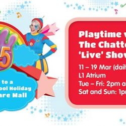 [Babies'R'Us] Join Chats and Tinka from 11 - 19 Mar (daily except Mon) in their adventurous world, The Chatterbox, as they sing