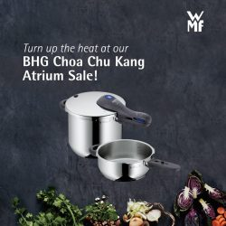 [WMF] Don't make the wrong move even under pressure with the right choice of cookware at the BHG Choa Chu