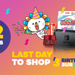 [Lazada Singapore] Only 12 hours left to the best Birthday Sale ever!
